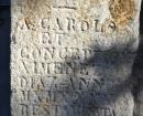Inscripciones en la entrada al Convento