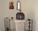 Detalles del interior de la iglesia