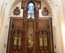 Retablo con la imagen de San Pedro Nolasco