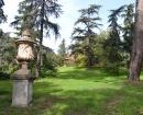 Vista de los jardines