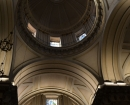 Interior de la iglesia - Cúpula