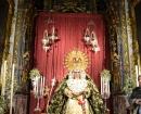 Virgen Macarena en la Capilla del Jesús del Gran Poder
