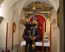 Talla de Jesús del Gran Poder en la Capilla de la Virgen Macarena
