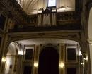 Interior de la iglesia - Órgano