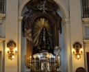 Retablo de la Soledad - Busto de la Virgen obra de Roberto Michel