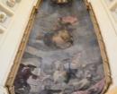 """Lienzo de la cúpula -  """"Victoria del duque de Berwick en la batalla de Almansa"""""""